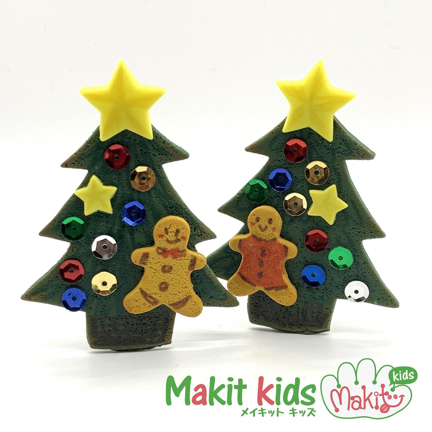 クリスマスツリークッキーメモスタンドのイメージ